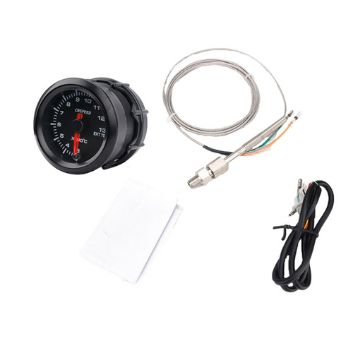 7 Color Exhaust Gas Temperature Gauge Dc 12v For Auto Car 2\