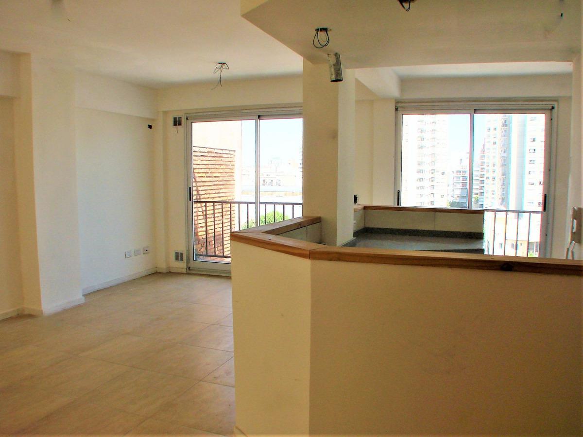 (7° contrafrente) monoambiente tipo loft con balcón