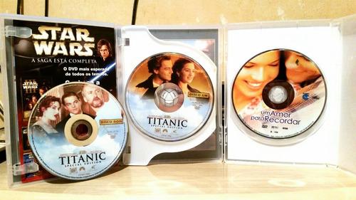 7 dvds grandes sucessos - filmes - originais
