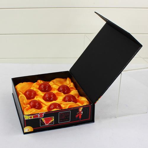 7 esferas do dragão dragon ball na caixa