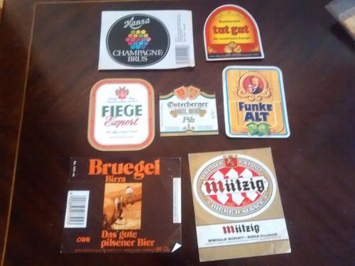 7 etiquetas de cervesa  diferentes (13