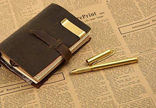7 felicity 205p hecho a mano latón regalo pluma pluma tin