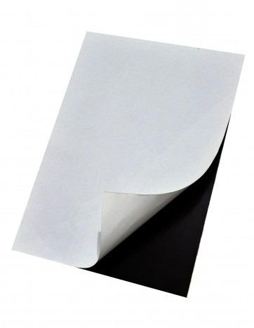7 folhas manta magnética imã adesivada tamanho a4 lembrança