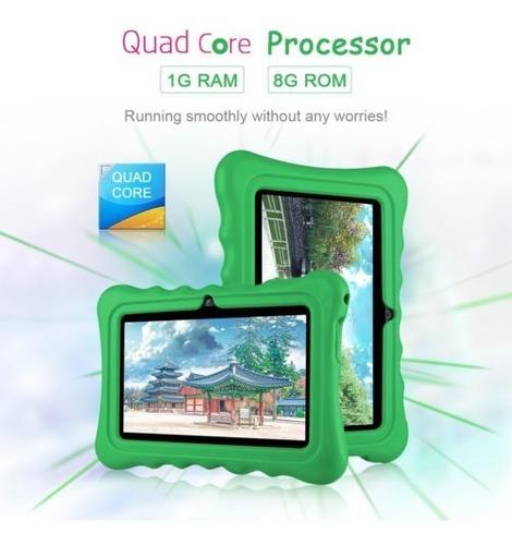 7  google android 7.1 3g tablet 8gb paquete caja para juego