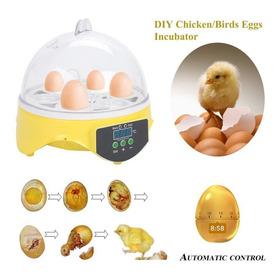 7 Huevos Pollito Incubadora Automática Nacedera Inteligente