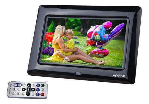 7 -inch hd tft - lcd marco foto digital con reproductor de d
