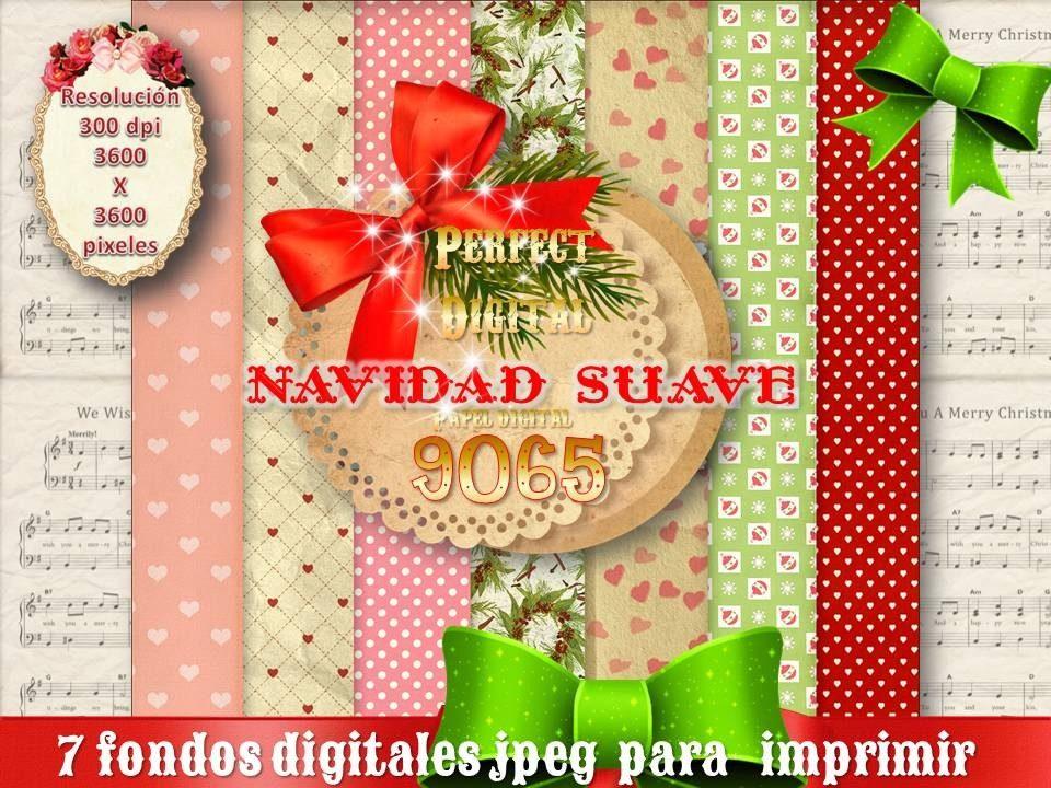 7 Jpeg Motivos Navidad Tarjetas Laminas Sublimacion Estampad 193 - Motivos-navidad