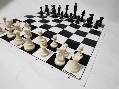 7 juegos de ajedrez profesional tipo staunton c/tablero