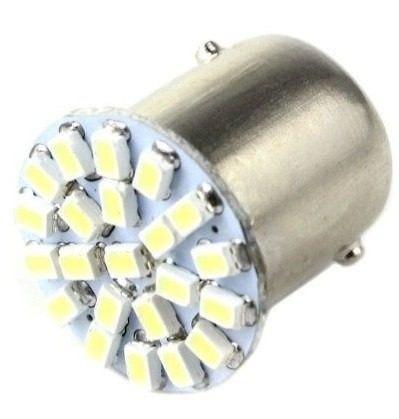 7 lampadas 1156 1 polo 22 leds p/ ré - placa celta e corsa