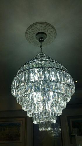 7 lujosas lamparas de lujo cristal compradas en lux galery .