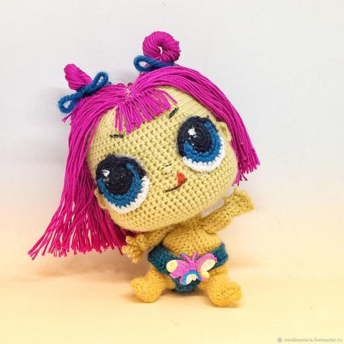 7 patrones muñecas lol amigurumis crochet-ingl.esp-x7
