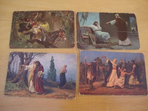 7 postales sagrada escritura-iv serie-h.k. & co. munich