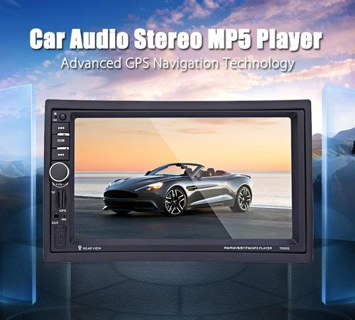 7 pulgada coche audio coche estéreo mp5 player 12v auto ví