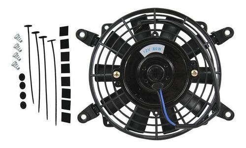 7  pulgadas 12v voltios eléctrico enfriamiento termo ventila