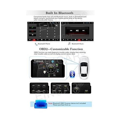 7 pulgadas android sistema estéreo del coche de la pantalla