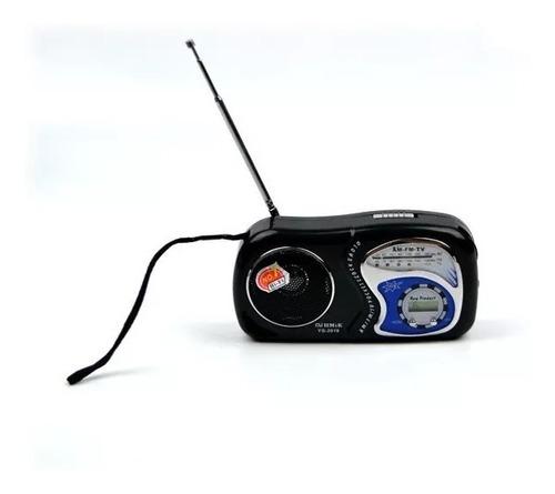 7 radio de bolsa am/fm/tv relógio portátil yg-2019 atacado