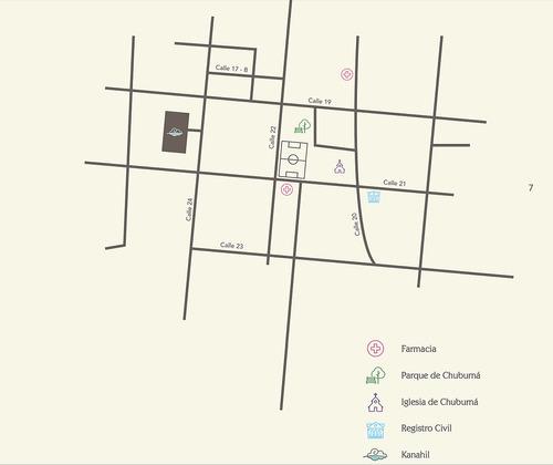 7 residencias en privada dentro de la ciudad, chuburna de hidalgo.