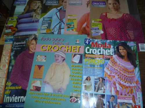 7 revistas tejido al crochet