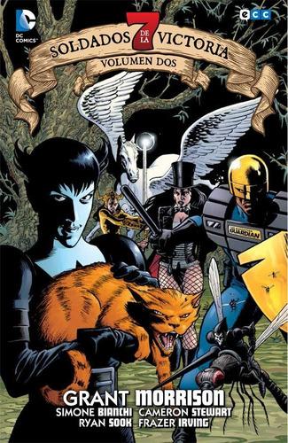 7 soldados de la victoria 1-4 - dc ecc comics - robot negro