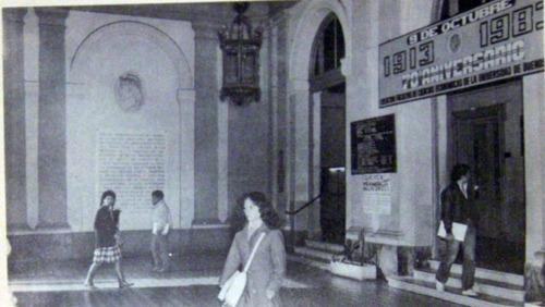 70 aniversario de la facultad de ciencias economicas 1983