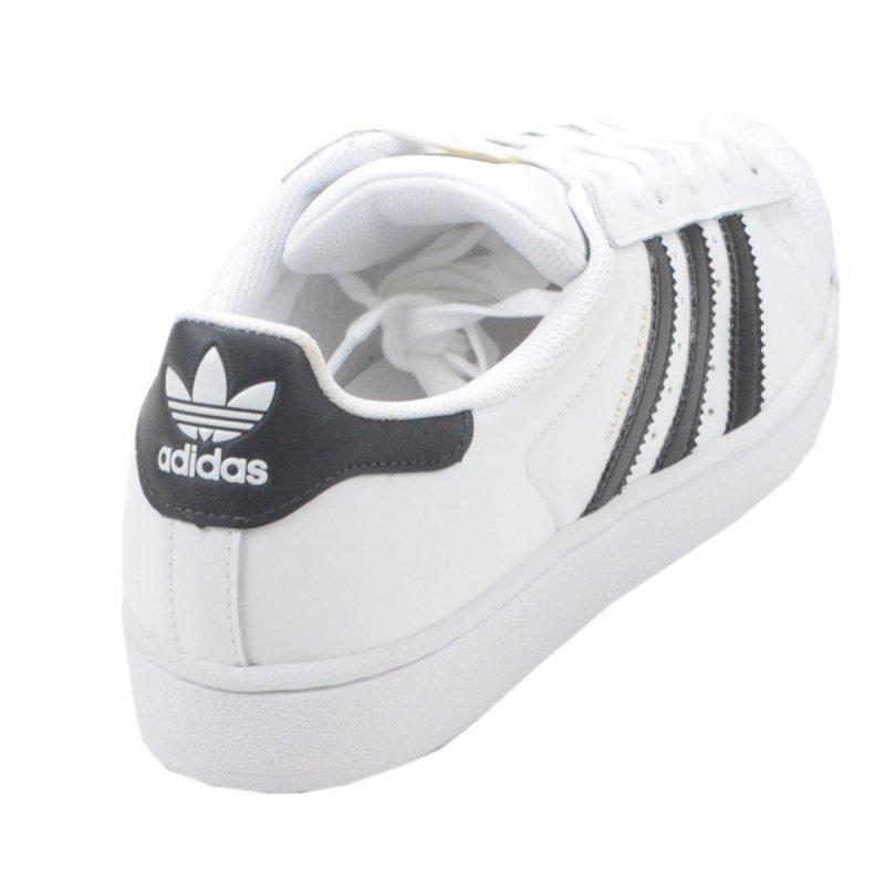70% Desconto Tênis adidas Superstar Foundation 100% Couro - R  280 ... 579348b9b7bc9