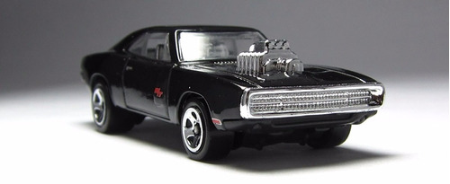'70 dodge charger r/t - velozes e furiosos - hot wheels