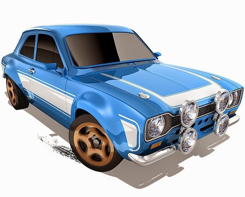 70 ford escort rs1600 velozes e furiosos hot wheels 2015 lac