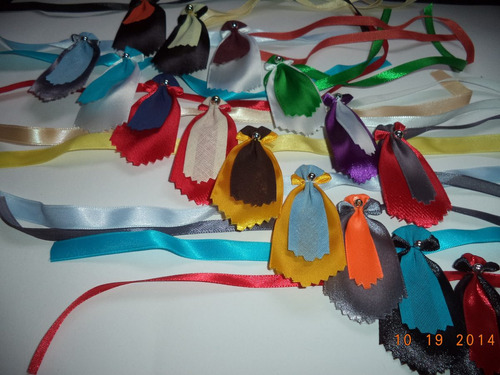 70 gravatas artesanais tam p para petshop