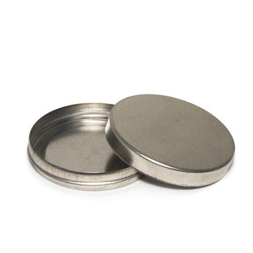 70 latinhas 5x1 de alumínio redonda na cor prata
