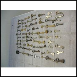 70 llaves diferentes antiguas