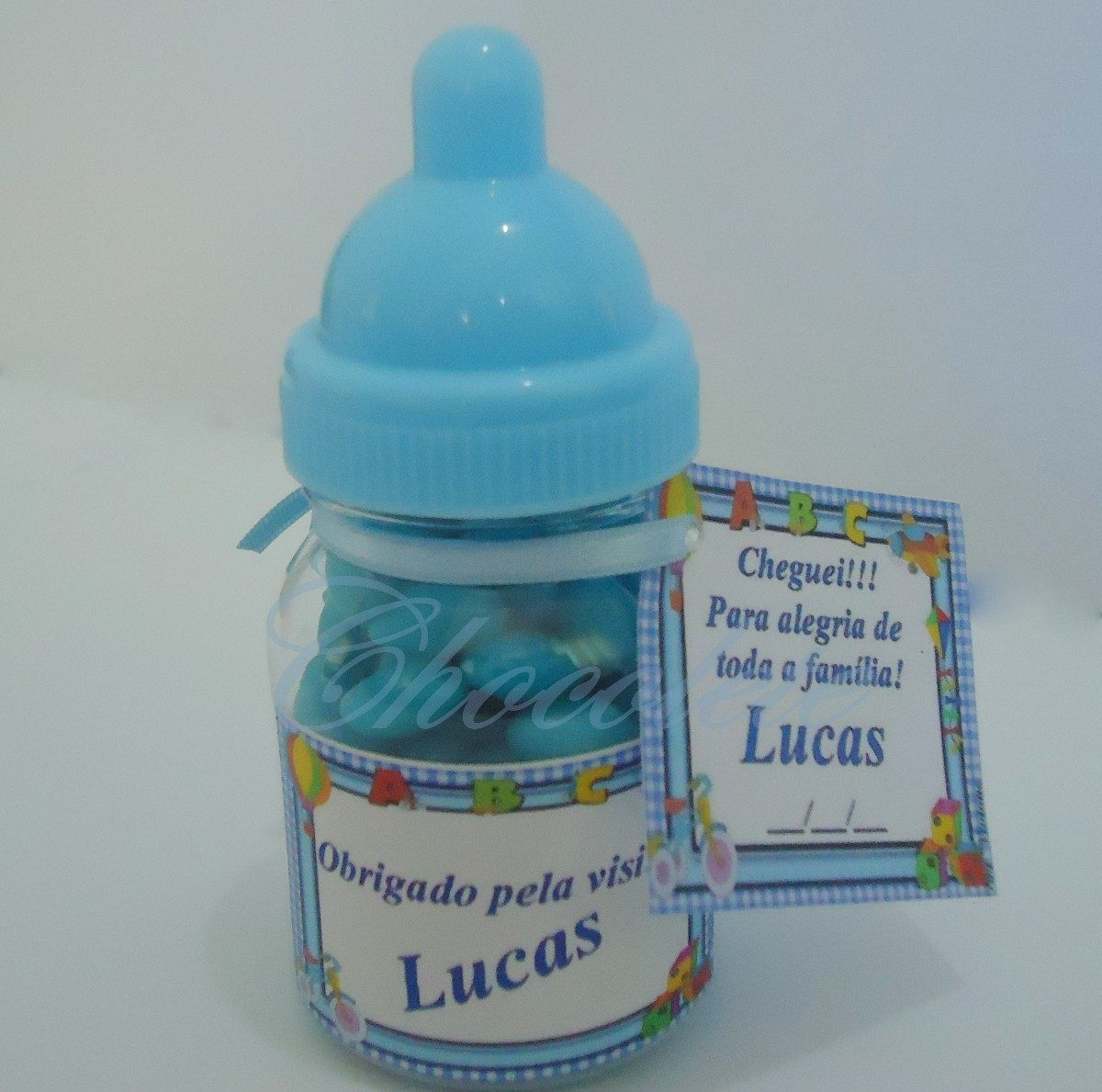 70 Mini Mamadeira Lembrancinha Maternidadechá De Bebe R 11900