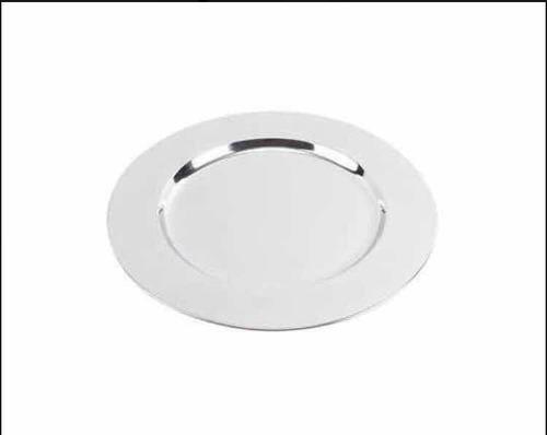 70 platos base de acero inoxidable de 32 cm de diámetro