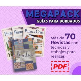70 Revistas De Bordado Punto De Cruz + El Manual De Bordado