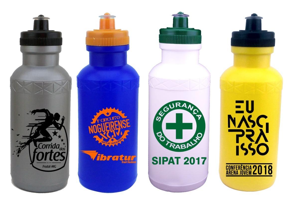 70 Squeeze Plastico 500ml Personalizado Em 1 Cor - R$ 245 ...