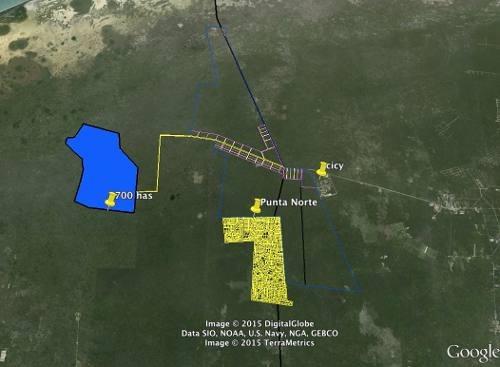 700 ha propiedad privada sierra papacal precio $65m2