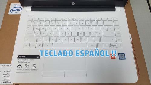 $700 inc.iva ideal laptop hp 14 intel core i5 8gb 1tb espñol