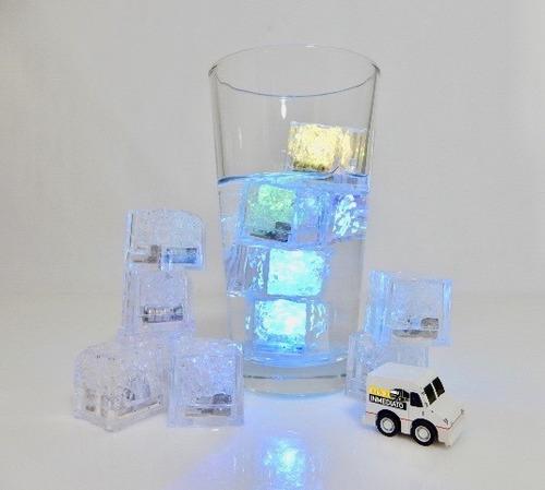 700 pzas. led rgb tipo hielo sumergible