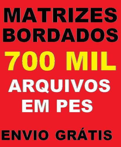 700.000 matrizes bordados dst pes jef brother ebook