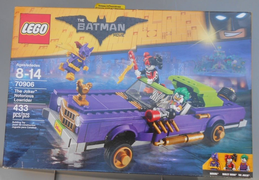 Nuevo The 70906 Batman Lego Notorious Coche Joker Guason g67YvIbfym