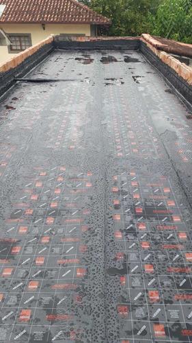 70m2 de manta asfáltica com instalação