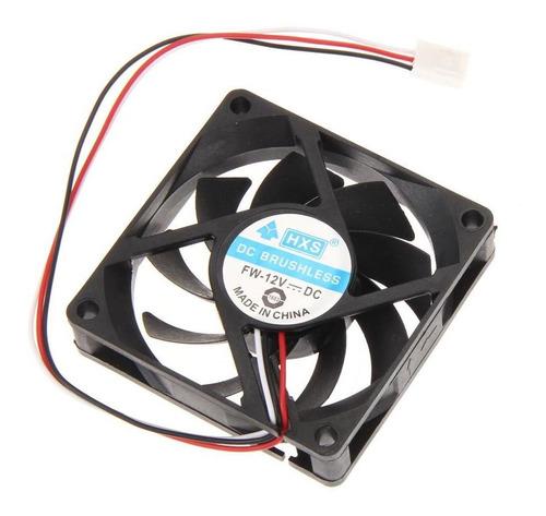 70x70x15mm dc 12v 3pin portátil equipo refrigerador pc cpu