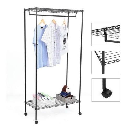 71 \  organizador de armario ropa prenda estante perchero a