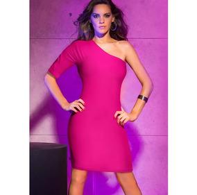 f64604c4c4b6 Vestidos Para Fiesta Dia Rojos - Vestidos de Mujer Corto Rosa en ...