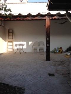 714 - santos - embaré - casa térrea - 03 ds - quintal