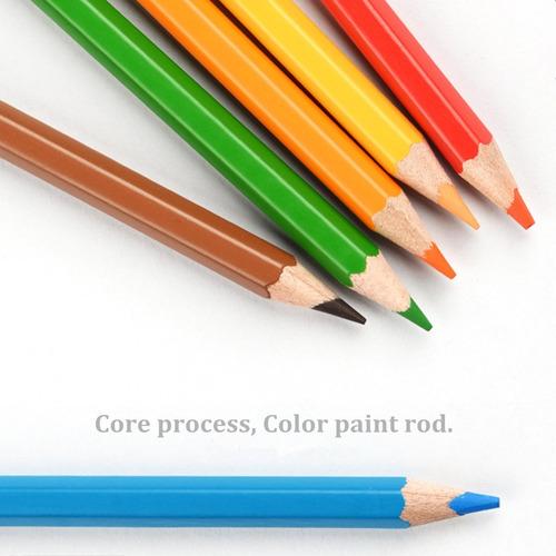 72 juego de lápiz de color artistas pintura óleo agua lápiz