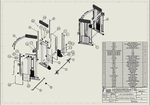 72 projetos maquinas de academia profissional frete gratis