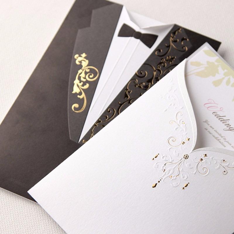 sobres para invitacin boda elegante vestido traje novios