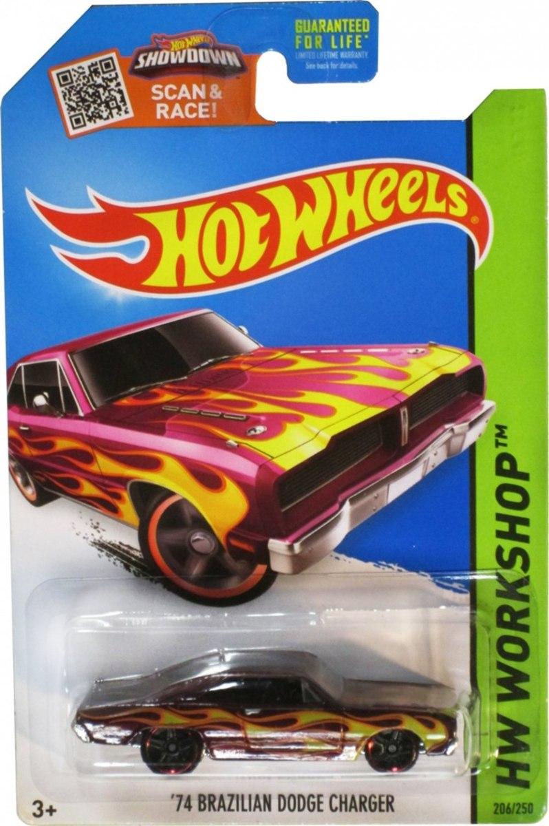 74 Brazilian Dodge Charger Hot Wheels Em Leil 227 O R 11