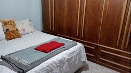 746 - são vicente - vila cascatinha - casa térrea - 2 dormit