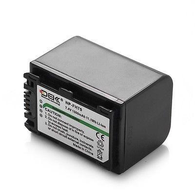 Batería Li-ion Para Sony Dcr-hc21 Np-fp50 Np-fp51 si usted no está Dcr-sr40 Dcr-dvd403 Nuevo
